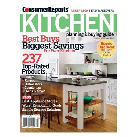 consumer reports special magazine 08572 the home depot