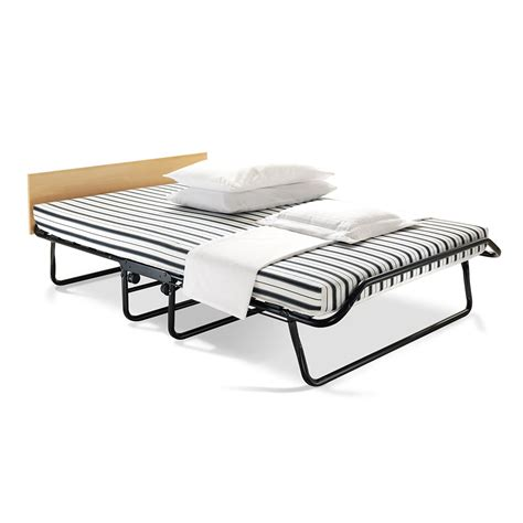 folding double bed jubilee folding bed with airflow mattress double at wilko com
