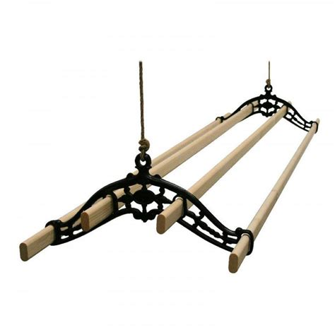 Ceiling Clothes Airer by Traditional Vintage Clothes Airer Dryer Kitchen Rack Ceiling Drier Ebay