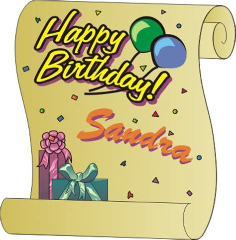 Happy Birthday Sandra In Advance Confessions Of A | happy birthday sandra in advance confessions of a