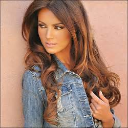 chocolate caramel hair color ideas new hairstyles