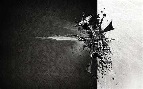 black  white abstract hd wallpaper   starchop