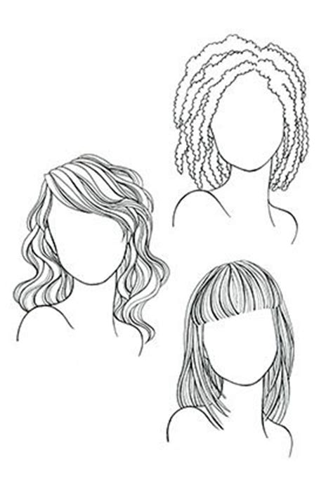 medium length hairstyle sketches the very best haircut for your face face shapes