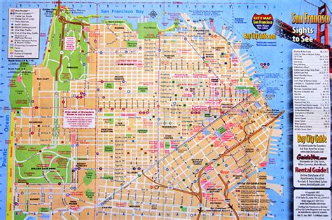 san francisco map attractions pdf san francisco downtown map michigan map