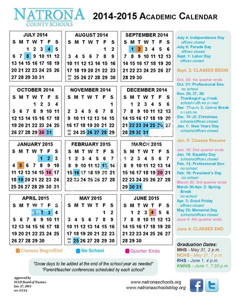 Academic Calendar Asu Asu Academic Calendar 2015 Calendar Template 2016