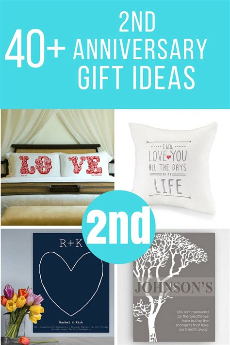 2nd wedding anniversary gift and traditional 2nd wedding anniversary gift ideas