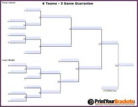 double elimination bracket 6 teams cvsampleform com