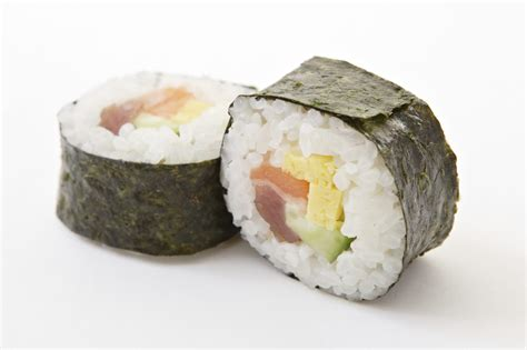 sushi in sushi in 10 steps healthy food guide
