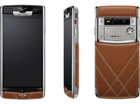 vertu phone the phone from the vertu bentley partnership is a