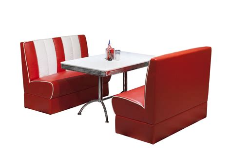 american diner esszimmer in rot wei 223 top form m 246 bel