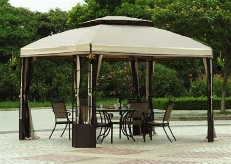 big lots l shades cheap gazebo modern l gz120pst big lots 10 x 12 bay