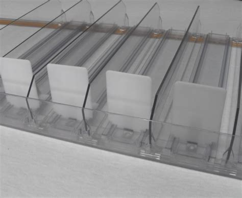 Retail Shelf Dividers by Cigarette Pushers Shelf Pusher Divider For Tobacco Display