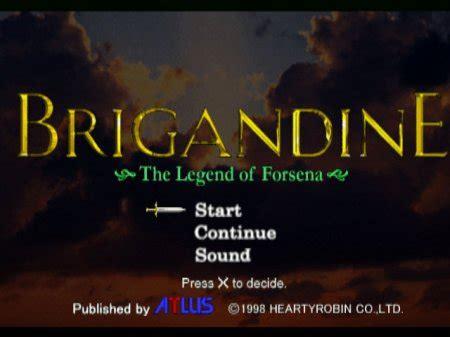 emuparadise brigandine brigandine the legend of forsena коды abksap