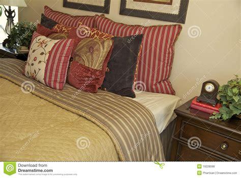 cozy bedding cozy comfortable bedding in home royalty free stock photos image 19228098