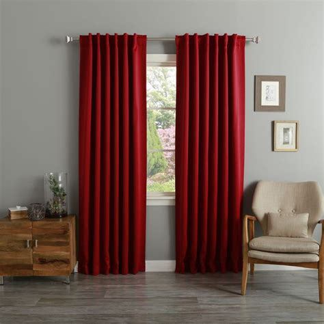 red curtain rod 1000 ideas about 3 window curtains on pinterest window
