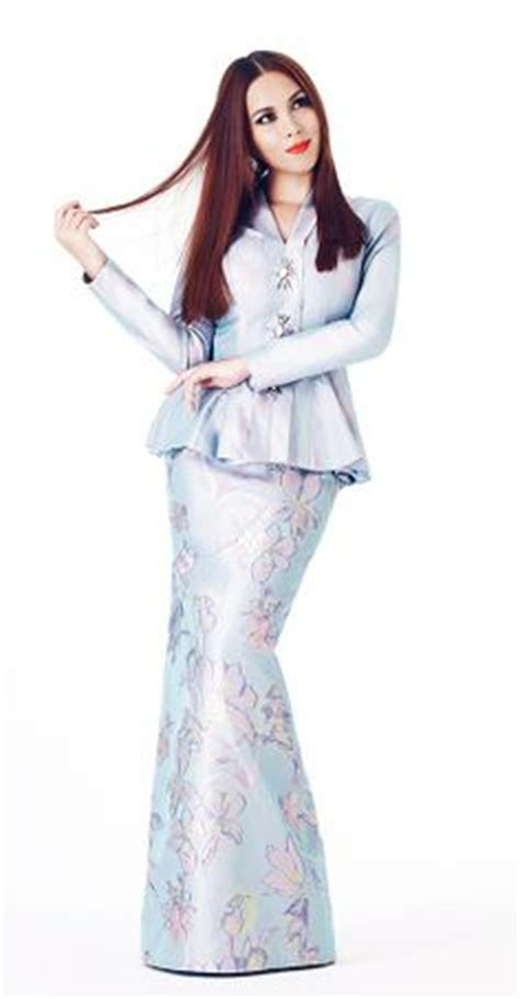 gaun peplum baju kurung moden lace minimalis baju raya 2016 fesyen