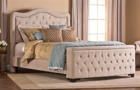 tufted storage bed hillsdale trieste tufted upholstered bed storage