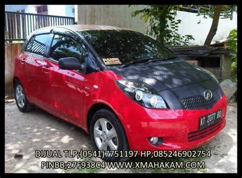 Knalpot Mobil Toyota Yaris iklan bisnis samarinda dijual toyota yaris e 2007 warna merah kondisi mulus terawat airbag