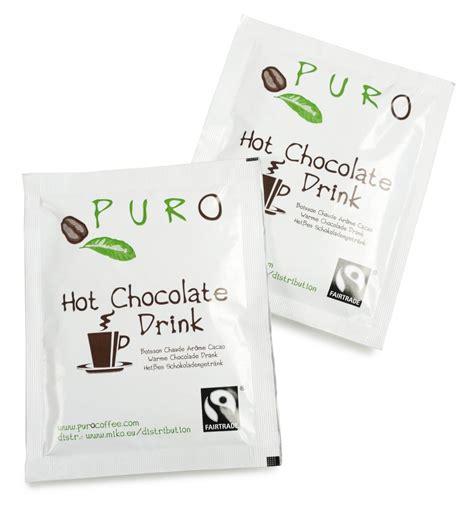 Hilo Active Belgian Chocolate 10 Sachets puro fairtrade belgian chocolate drink sachets
