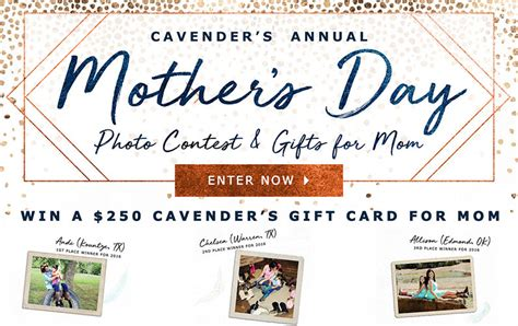 Cavender S Gift Card - 2017 cavender s mother s day photo contest cavender s ranch