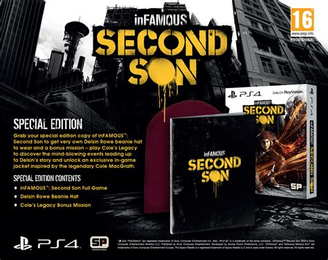 let s find special complete edition 2nd edition infamous second special edition ps4 zavvi