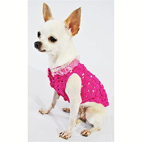 chihuahua puppy clothes pink clothes fancy pet apparel fashion designer