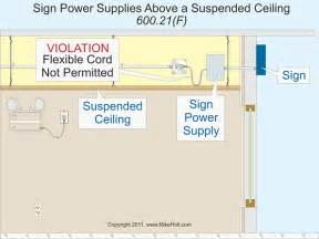 Suspended Ceiling Suppliers Near Me Nec For Electric Signs And Outline Lighting