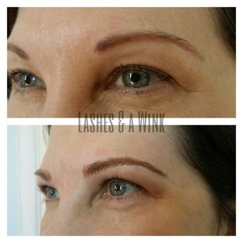 eyebrows tattoo in va eyebrow correction this client wanted a more flattering