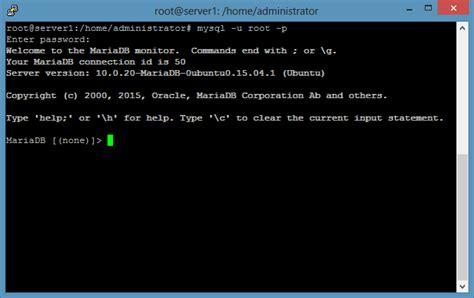 configure ubuntu mysql server ubuntu 15 10 lamp server tutorial with apache 2 4 php 5