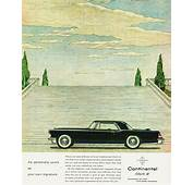 1956 Lincoln Continental Mark II Ad  CLASSIC CARS TODAY