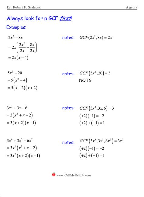Factor Completely Worksheet Answers by Factoring Polynomials Completely Worksheet Answers Deployday
