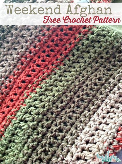 Colors Patterns To Jump Start The Weekend by Free Pattern Fast And Easy Crochet Throw 2 Stripe