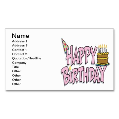 business card template emory rollins birthday quotes business quotesgram