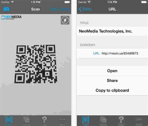 best qr code and barcode scanner apps for iphone and 2018