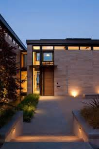 Home Entrance Design Washington Park Hilltop Residence Incorporates Fluid Form
