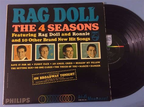 4 seasons rag doll popsike signed the 4 seasons rag doll promo