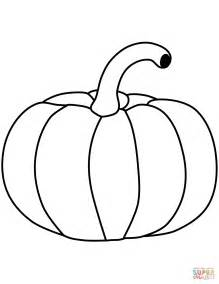 simple pumpkin coloring pages pumpkin coloring page free printable coloring pages