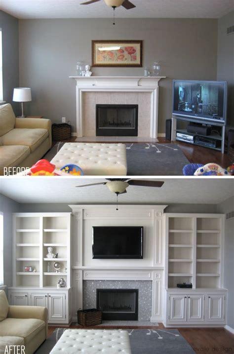 Built Ins Around Fireplace Diy by Zen Shmen 50 Great Ideas For Built Ins