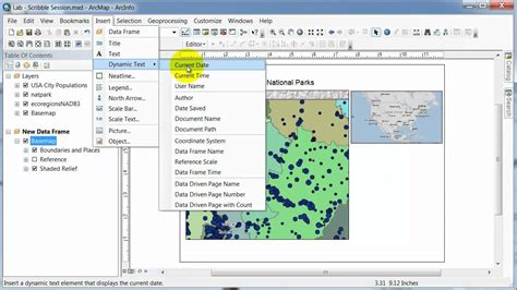 layout toolbar arcgis 10 arcgis 10 arcmap editing layout youtube