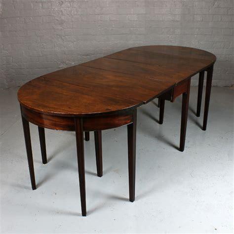 antique mahogany end tables small georgian mahogany d end table antiques atlas