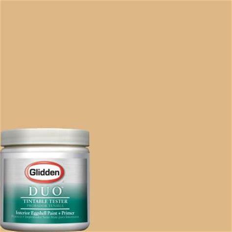 glidden duo 8 oz honey beige interior paint tester gldy