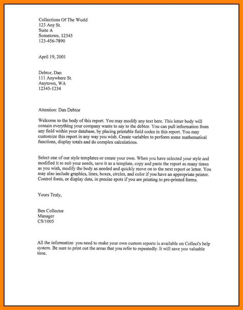 format for a business letter template 9 how to write a letter in format riobrazil