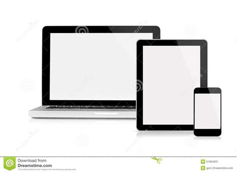 mav mobili laptop tablet and mobile phone stock image image 51964031