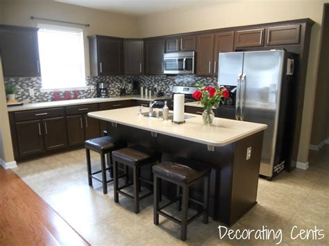 kitchen cabinetss decorating cents kitchen cabinets revealed