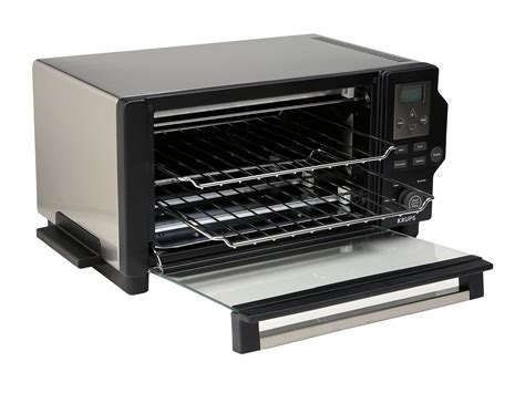 Krups Toaster Ovens krups toaster oven black stainless steel shipped free at zappos