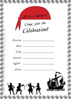 80 Best Images About Pirate Stuff On Pinterest Pirate Party Foods Toucan Craft And Teach Like Free Pirate Invitation Template