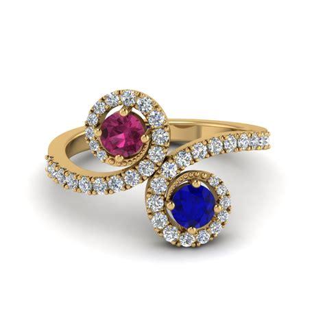 Two Engagement Rings by Two Engagement Rings Fascinating Diamonds