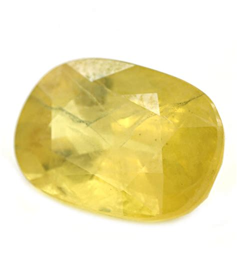 Yellow Saphire buy 5 44 ct yellow sapphire gemstone barishh
