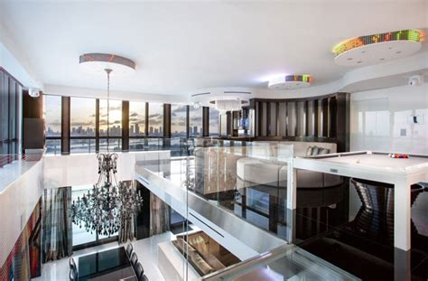 New York Condo Floor Plans 5 stunning miami beach penthouses with pool