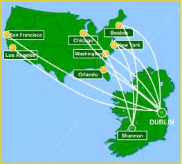 Aer Lingus Route Map by Air Flights To Ireland 2017 Ototrends Net